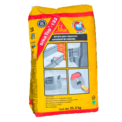 Sikatop 122 30 kg sika productos precios plomerama for Productos sika para piscinas