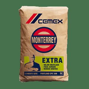 Cemento Gris Monterrey Bulto 25kg Plomerama Construrama