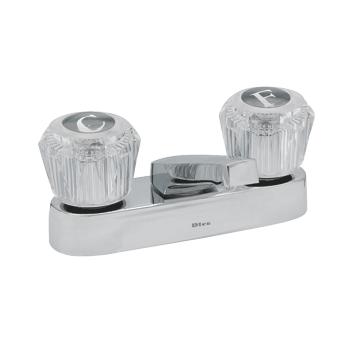 Mezcladora de 4 para lavabo con cubierta dica plomerama for Marcas de llaves mezcladoras